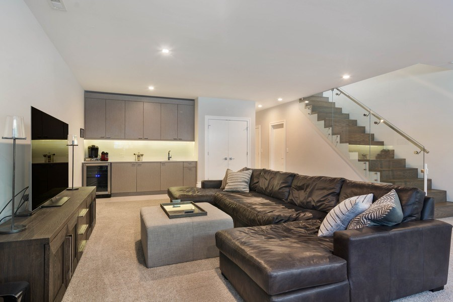 Real Estate Photography - 2027 W Belmont Ave #1, Chicago, IL, 60618 - Lower Level