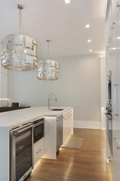 Real Estate Photography - 2027 W Belmont Ave #1, Chicago, IL, 60618 - Kitchen