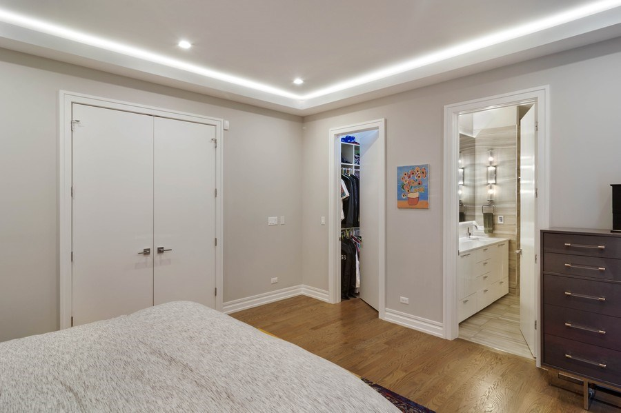 Real Estate Photography - 2027 W Belmont Ave #1, Chicago, IL, 60618 - Master Bedroom