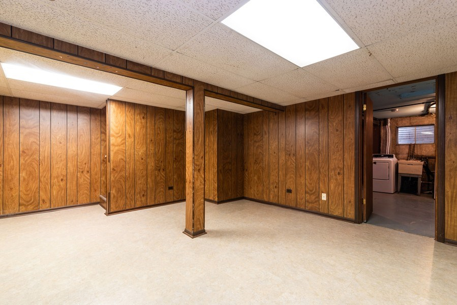 Real Estate Photography - 1734 Henley St., #11, Glenview, IL, 60025 - Basement