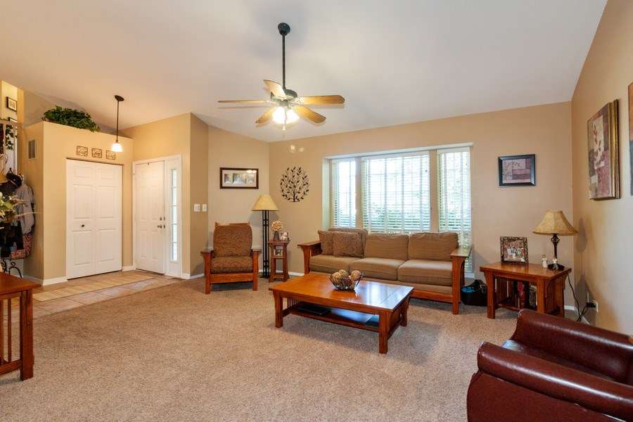 Real Estate Photography - 3632 Princeton Ave, Aurora, IL, 60504 - Living Room