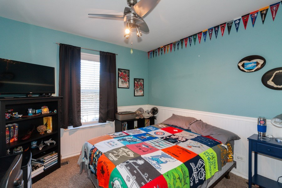 Real Estate Photography - 3632 Princeton Ave, Aurora, IL, 60504 - 2nd Bedroom