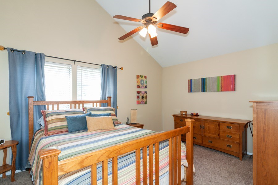 Real Estate Photography - 3632 Princeton Ave, Aurora, IL, 60504 - Master Bedroom
