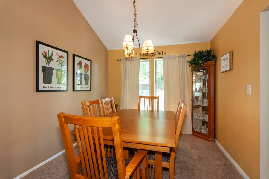 Real Estate Photography - 3632 Princeton Ave, Aurora, IL, 60504 - Dining Area