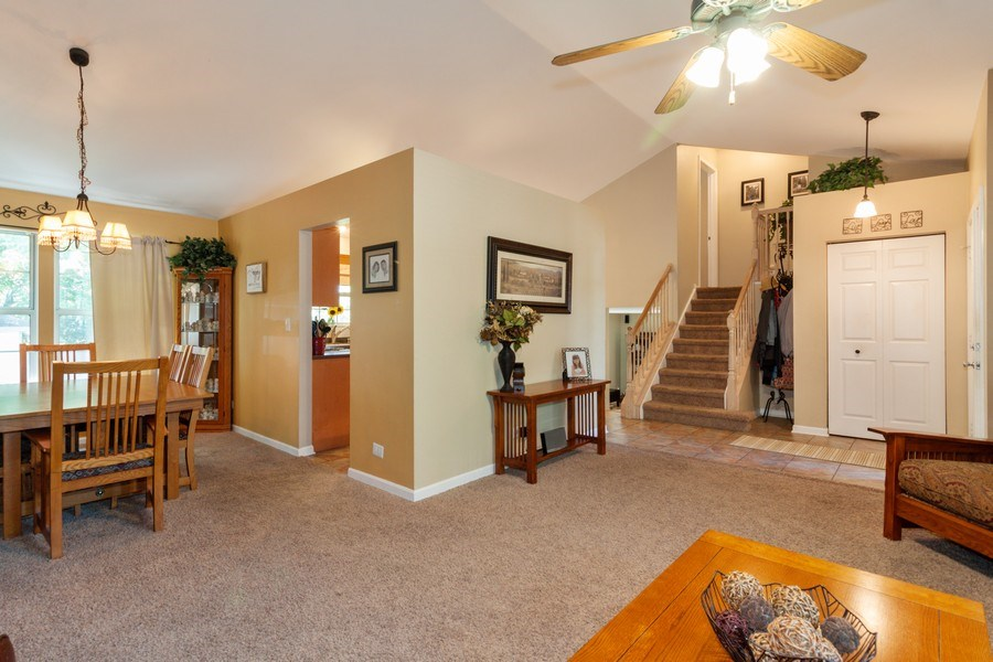 Real Estate Photography - 3632 Princeton Ave, Aurora, IL, 60504 - Living Room / Dining Room