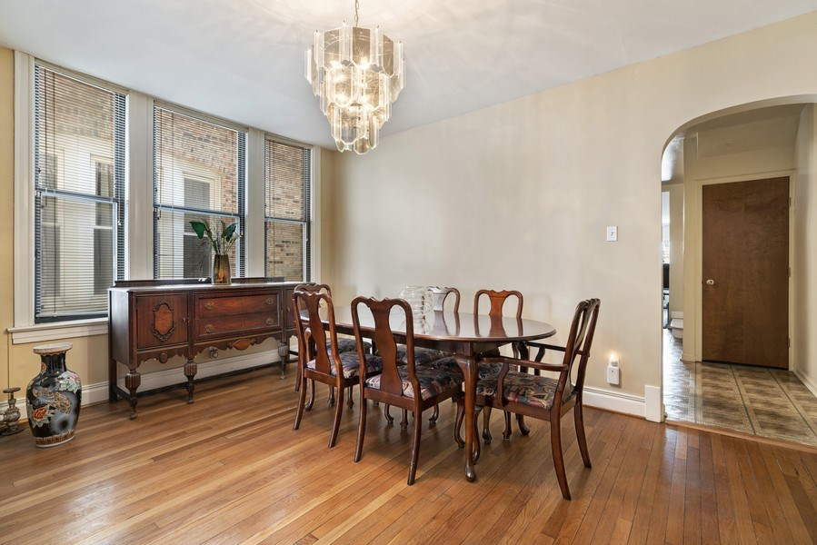 Real Estate Photography - 5344 S Drexel Ave, Chicago, IL, 60615 - Dining Room