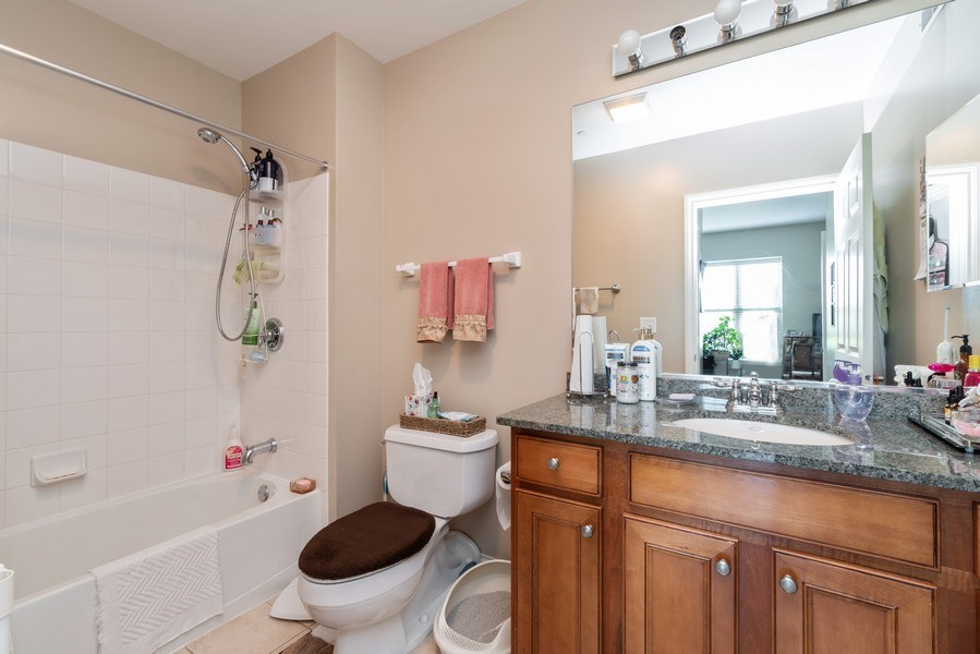Real Estate Photography - 2700 Summit Dr, Unit 312, Glenview, IL, 60025 - Bathroom