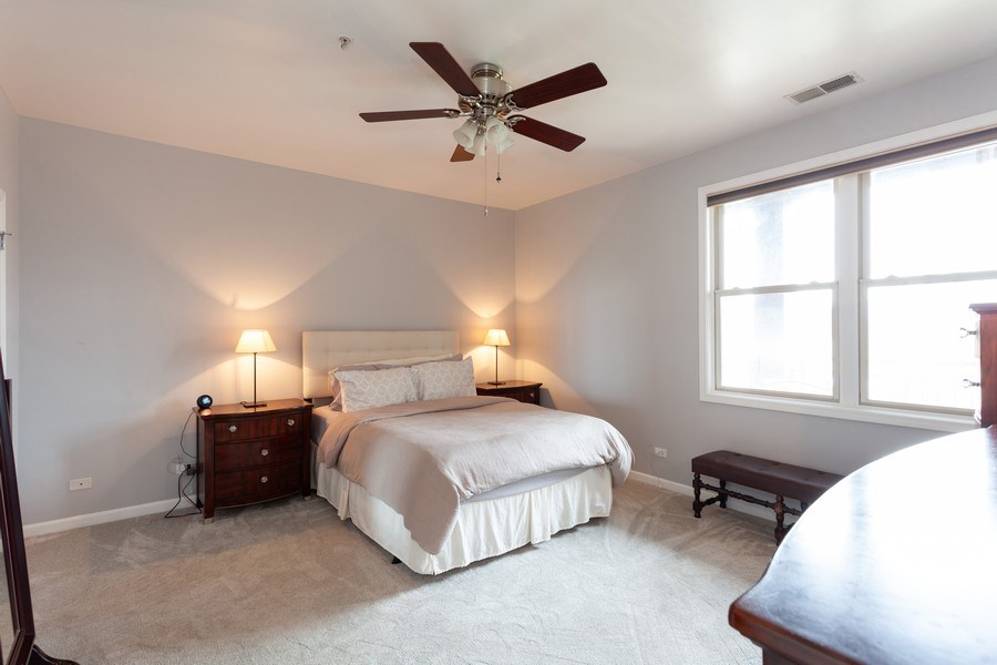 Real Estate Photography - 930 Curtis St., Unit 309, Downers Grove, IL, 60515 - Master Bedroom