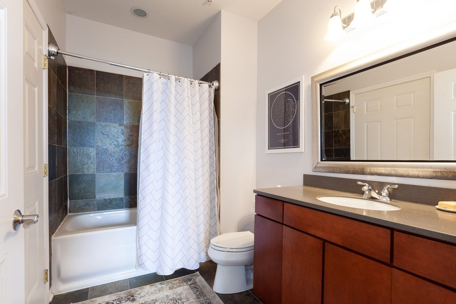 Real Estate Photography - 930 Curtis St., Unit 309, Downers Grove, IL, 60515 - Bathroom