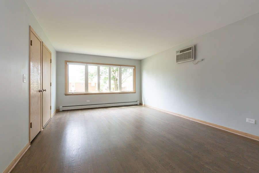 Real Estate Photography - 8556 W. Argyle St., Chicago, IL, 60656 - Living Room