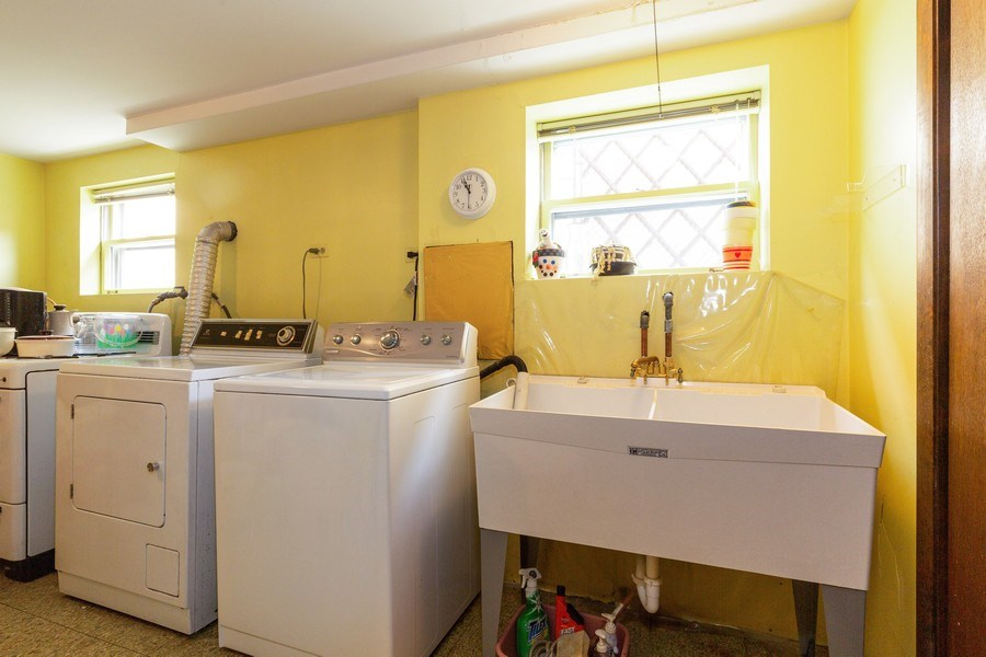 Real Estate Photography - 8556 W. Argyle St., Chicago, IL, 60656 - Laundry Room