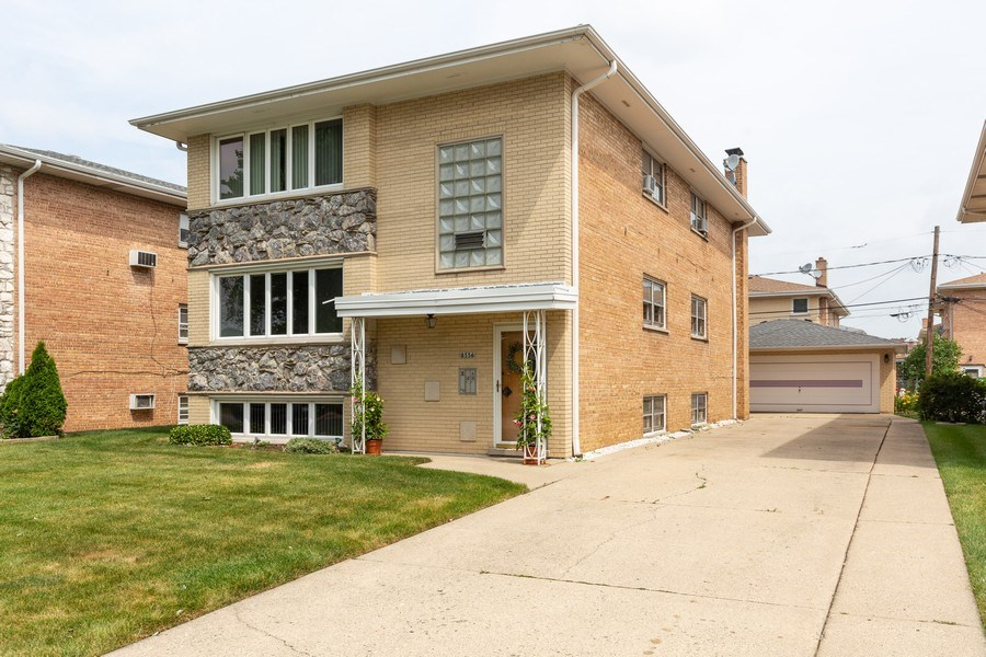 Real Estate Photography - 8556 W. Argyle St., Chicago, IL, 60656 - Front View