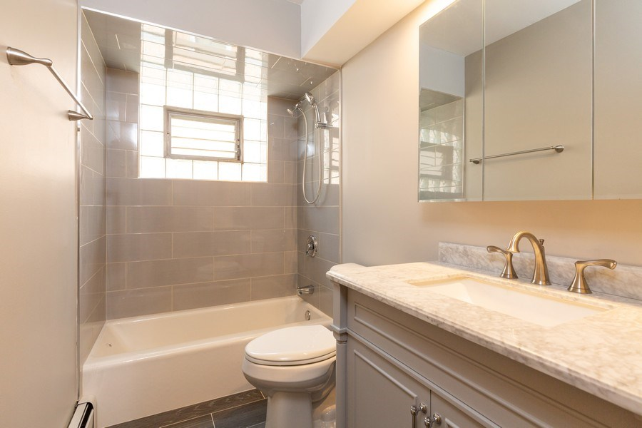 Real Estate Photography - 8556 W. Argyle St., Chicago, IL, 60656 - Bathroom