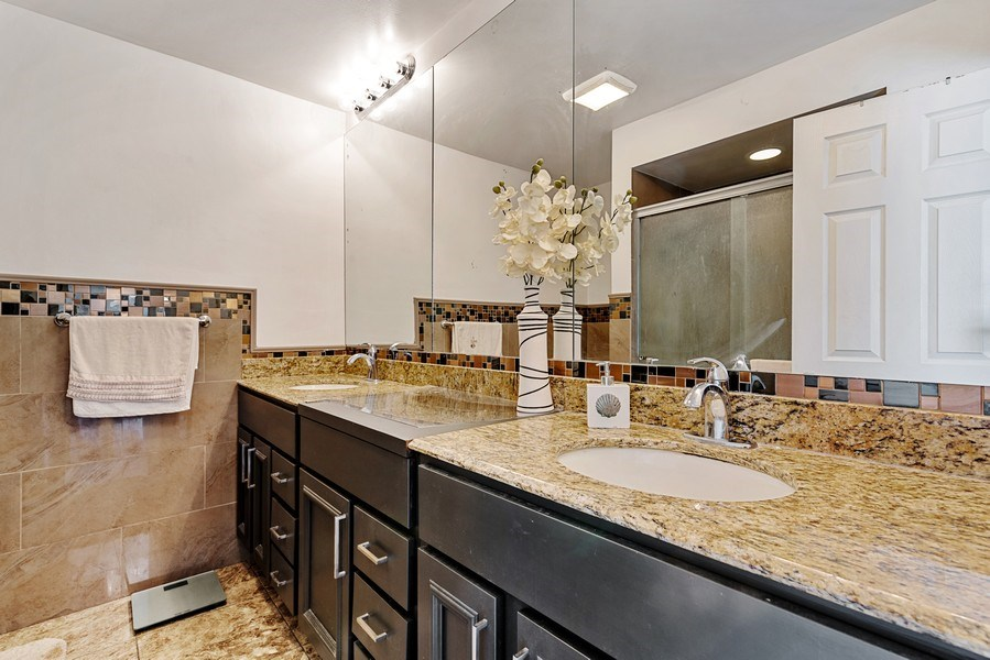 Real Estate Photography - 7601 N Lincoln, Skokie, IL, 60077 - Master Bathroom