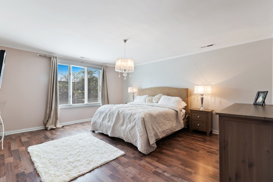Real Estate Photography - 7601 N Lincoln, Skokie, IL, 60077 - Master Bedroom