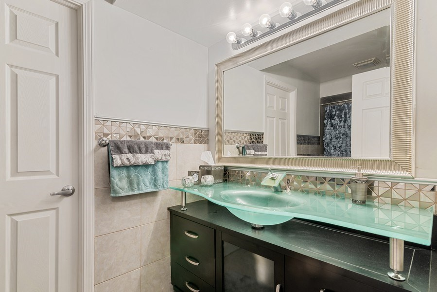 Real Estate Photography - 7601 N Lincoln, Skokie, IL, 60077 - 2nd Bathroom