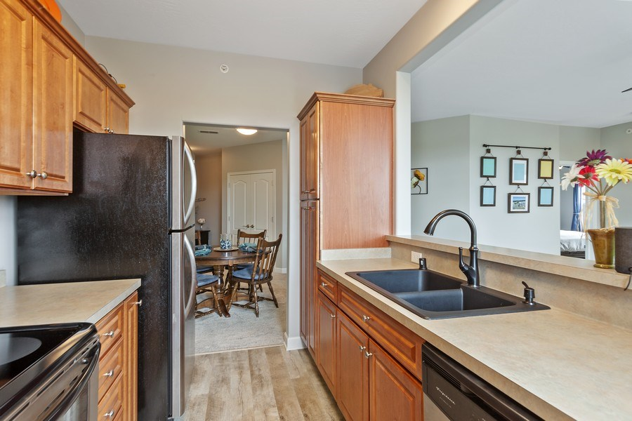 Real Estate Photography - 1619 N Farwell Ave, 309, Milwaukee, WI, 53202 - Kitchen