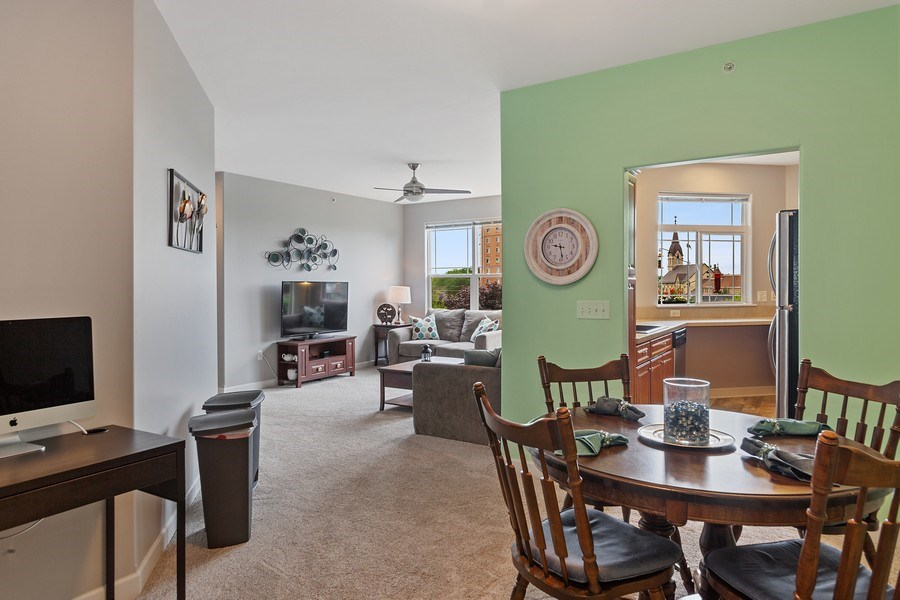 Real Estate Photography - 1619 N Farwell Ave, 309, Milwaukee, WI, 53202 - Living Room / Dining Room