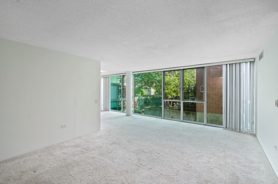 Real Estate Photography - 3115 S Michigan Unit 203, Chicago, IL, 60616 - Living Room