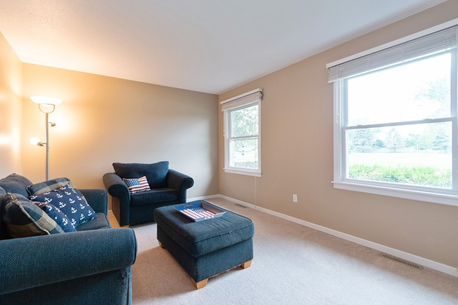 Real Estate Photography - 18761 Spring Creek Street, New Lenox, IL, 60451 - Living Room