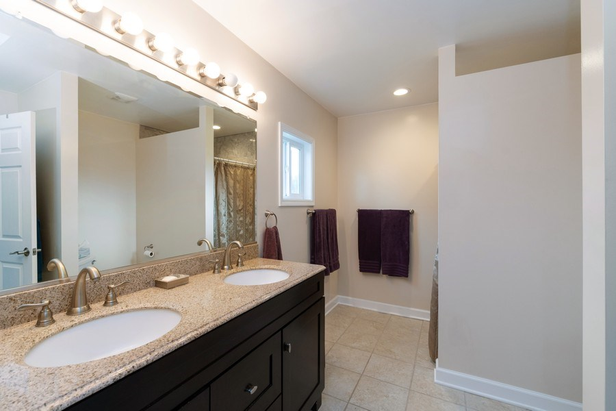 Real Estate Photography - 18761 Spring Creek Street, New Lenox, IL, 60451 - Master Bathroom