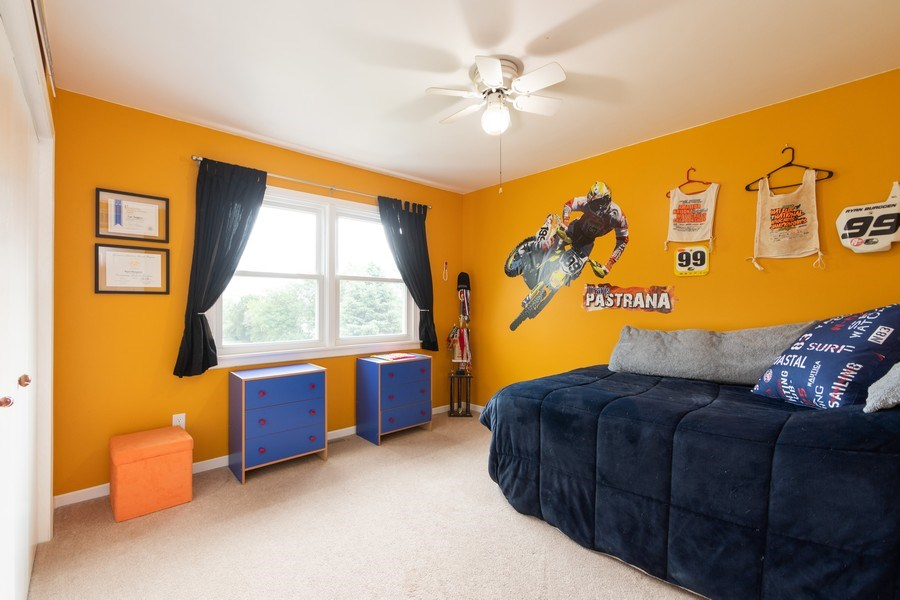 Real Estate Photography - 18761 Spring Creek Street, New Lenox, IL, 60451 - 2nd Bedroom