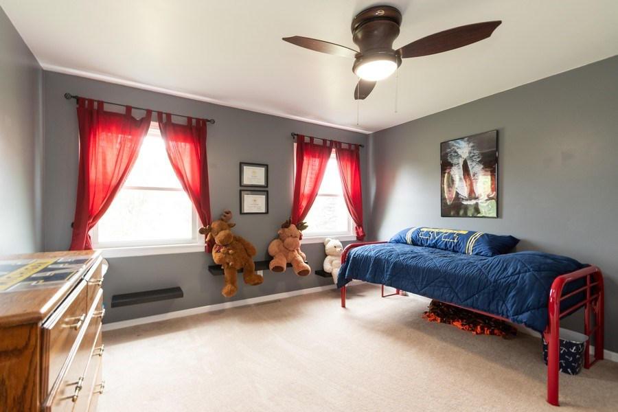 Real Estate Photography - 18761 Spring Creek Street, New Lenox, IL, 60451 - 3rd Bedroom