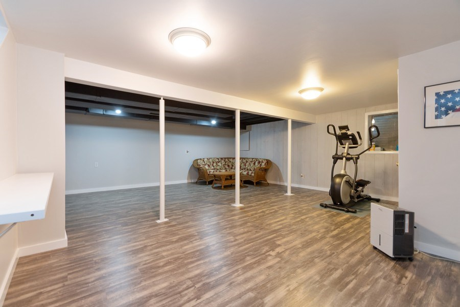 Real Estate Photography - 18761 Spring Creek Street, New Lenox, IL, 60451 - Recreational Room