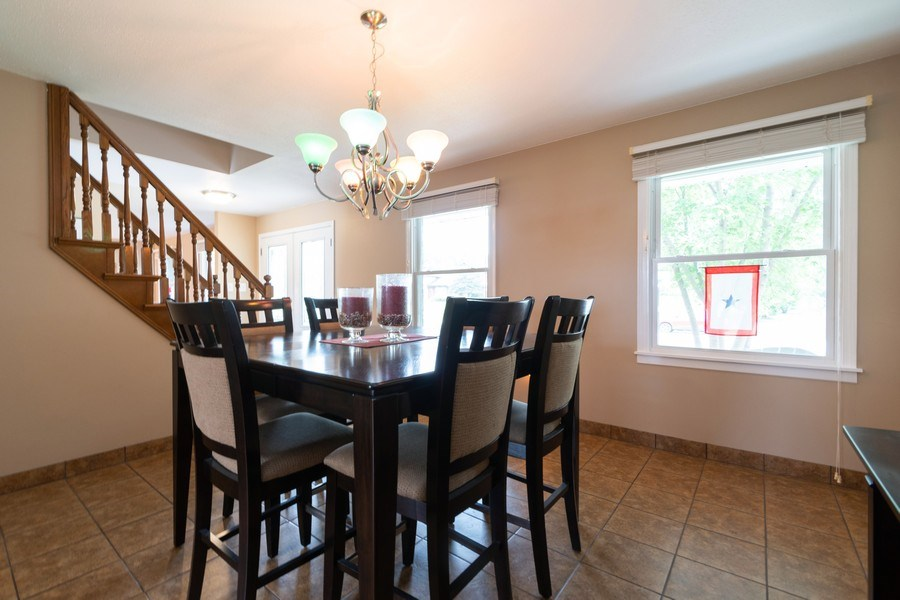 Real Estate Photography - 18761 Spring Creek Street, New Lenox, IL, 60451 - Dining Room