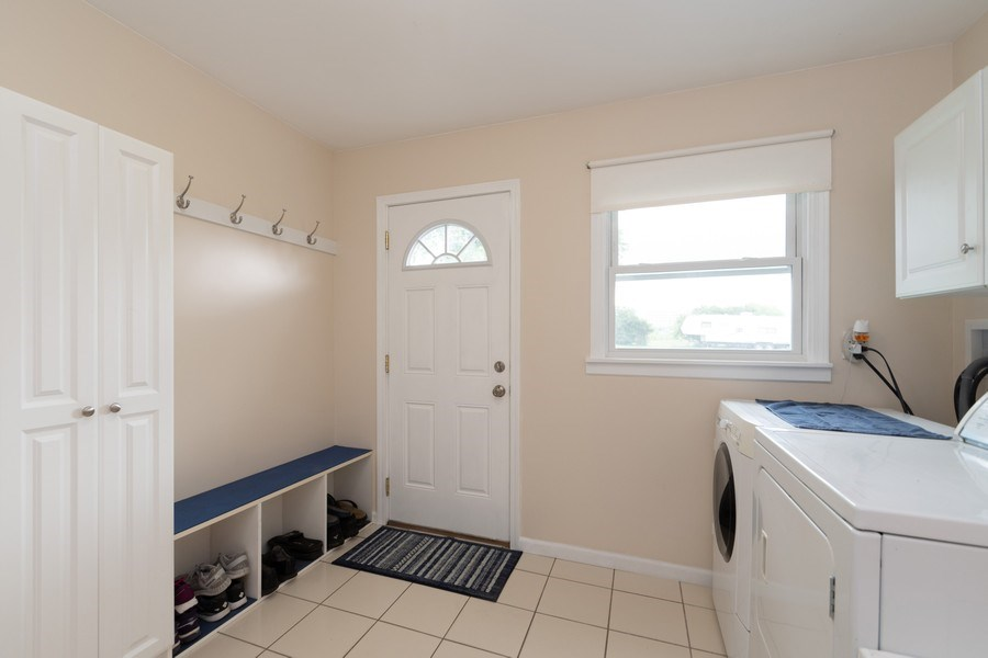Real Estate Photography - 18761 Spring Creek Street, New Lenox, IL, 60451 - Laundry Room
