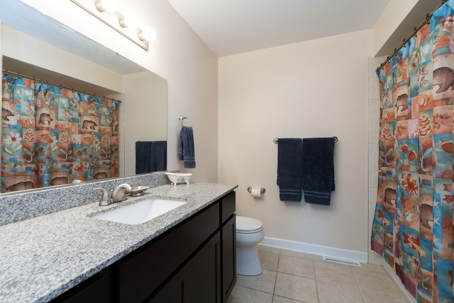 Real Estate Photography - 18761 Spring Creek Street, New Lenox, IL, 60451 - Bathroom