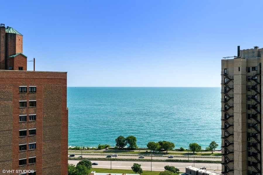Real Estate Photography - 5000 S East End Ave, Apt 17 D, Chicago, IL, 60615 - View