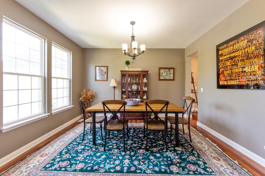 Real Estate Photography - 741 Brighton Cir, Barrington, IL, 60010 - Dining Room