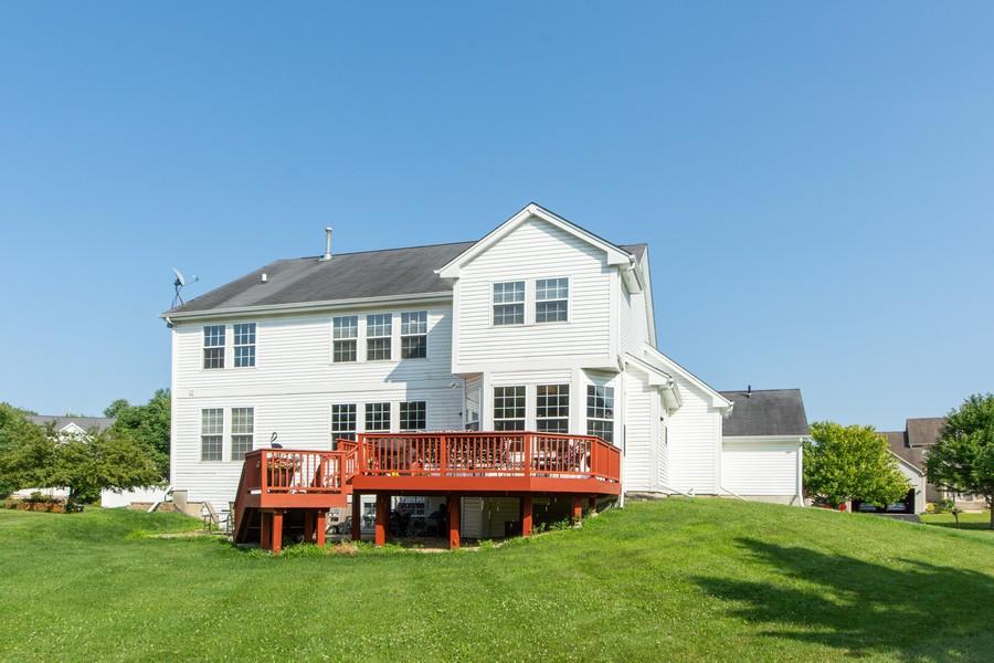 Real Estate Photography - 741 Brighton Cir, Barrington, IL, 60010 - Rear View