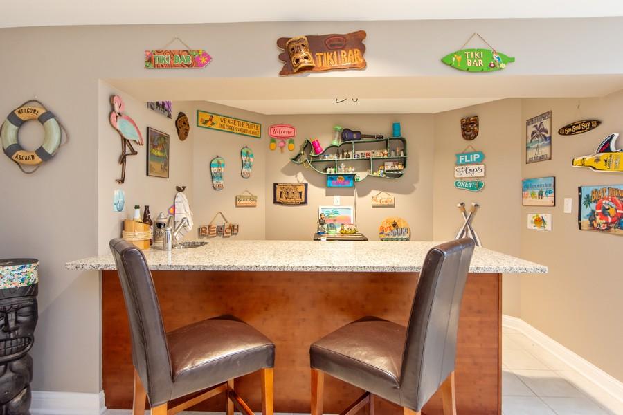 Real Estate Photography - 741 Brighton Cir, Barrington, IL, 60010 - Lower Level Bar