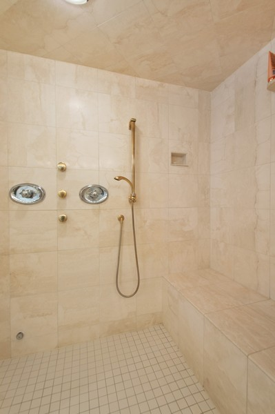 Real Estate Photography - 3800 N Lakeshore Drive, 11A, Chicago, IL, 60613 - Master Bathroom