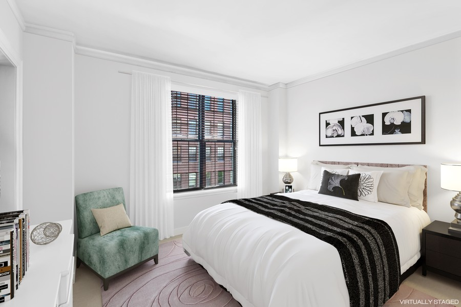 Real Estate Photography - 3800 N Lakeshore Drive, 11A, Chicago, IL, 60613 - 2nd Bedroom