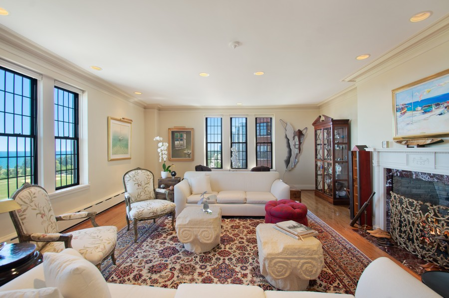 Real Estate Photography - 3800 N Lakeshore Drive, 11A, Chicago, IL, 60613 - Living Room