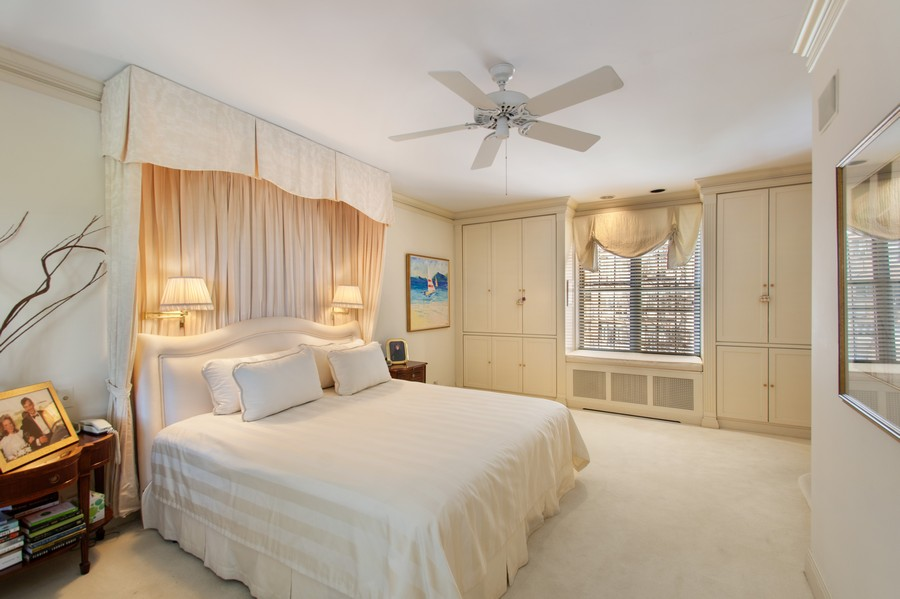 Real Estate Photography - 3800 N Lakeshore Drive, 11A, Chicago, IL, 60613 - Master Bedroom
