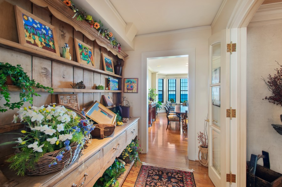 Real Estate Photography - 3800 N Lakeshore Drive, 11A, Chicago, IL, 60613 - Butler's pantry
