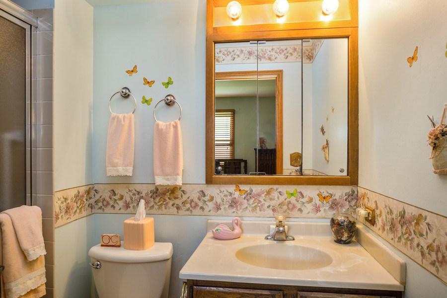 Real Estate Photography - 648 W. Eggerding, Addison, IL, 60101 - Master Bathroom