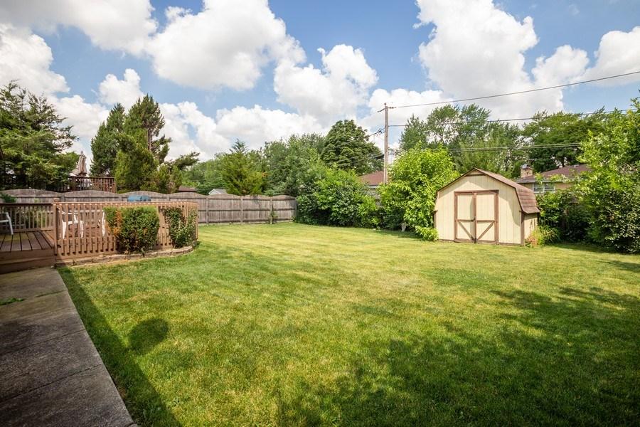 Real Estate Photography - 648 W. Eggerding, Addison, IL, 60101 - Back Yard
