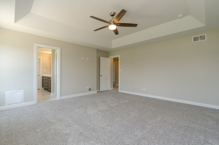 Real Estate Photography - 1987 Louis Drive, Crown Point, IN, 46307 - Master Bedroom