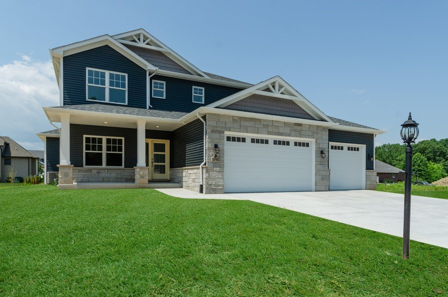 Real Estate Photography - 1987 Louis Drive, Crown Point, IN, 46307 - Front View