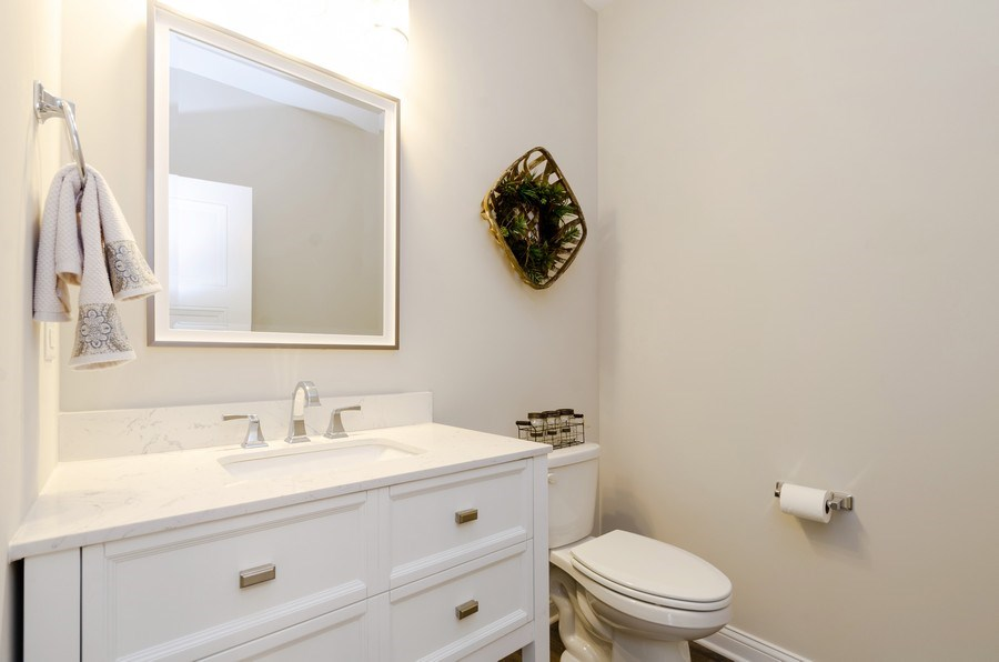 Real Estate Photography - 1987 Louis Drive, Crown Point, IN, 46307 - Half Bath