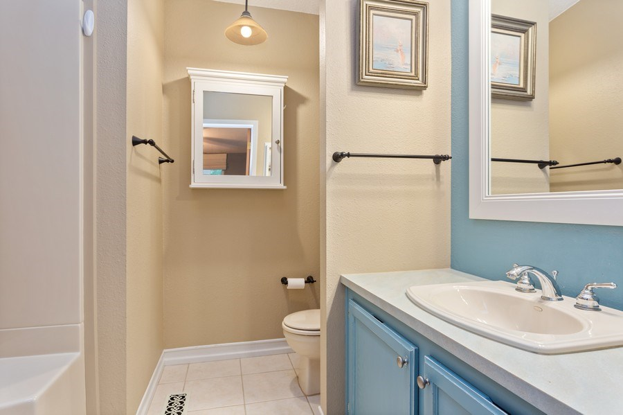 Real Estate Photography - 3707 Wild Rose Dr, Michigan City, IN, 46360 - Master Bathroom
