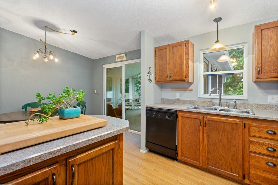 Real Estate Photography - 3707 Wild Rose Dr, Michigan City, IN, 46360 - Kitchen