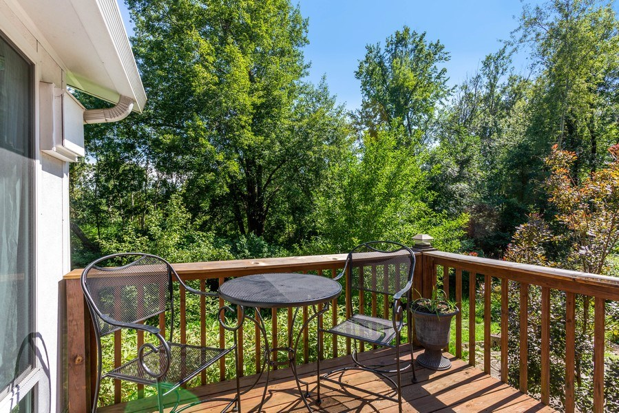 Real Estate Photography - 3707 Wild Rose Dr, Michigan City, IN, 46360 - Deck