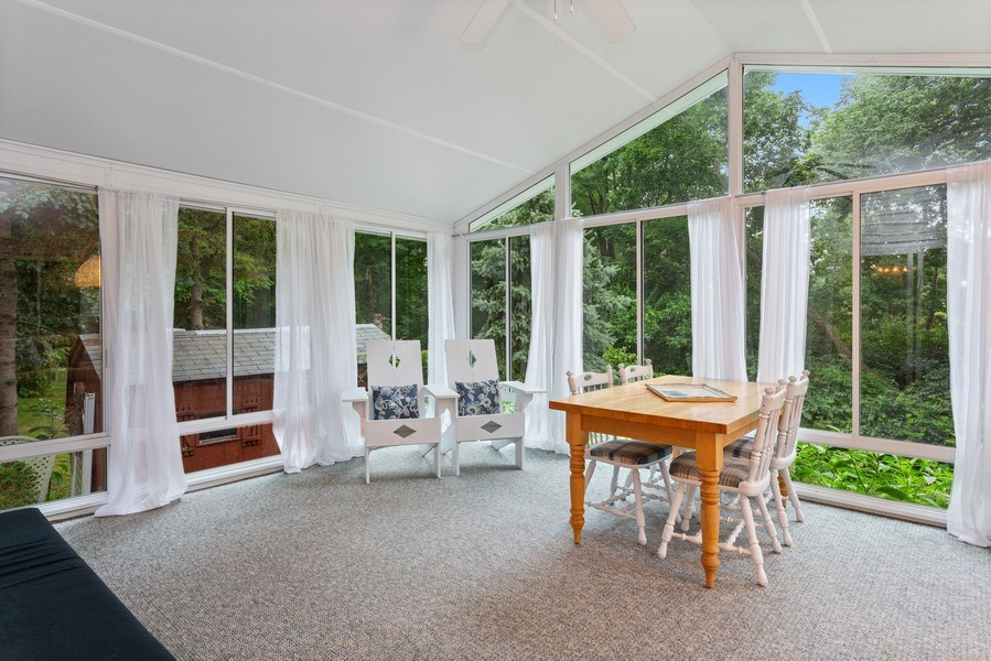 Real Estate Photography - 3707 Wild Rose Dr, Michigan City, IN, 46360 - Sun Room