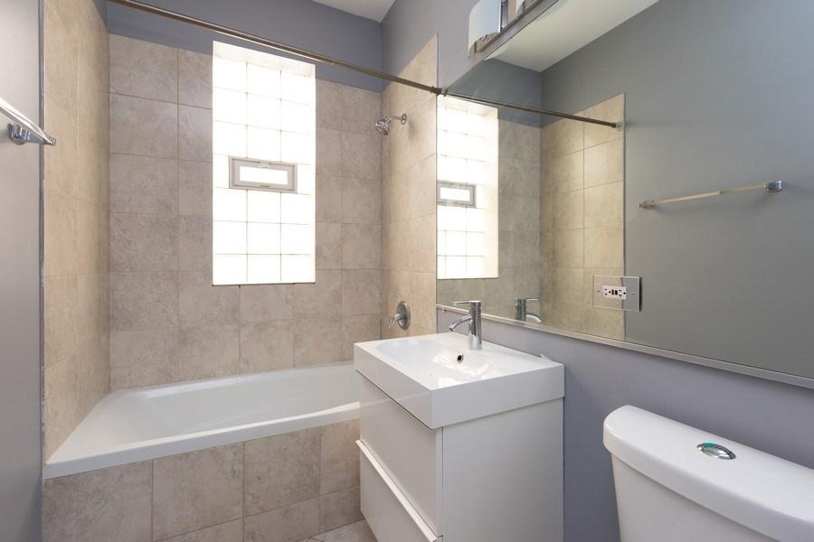 Real Estate Photography - 1633 N. Western-#2N, Chicago, IL, 60647 - Bathroom